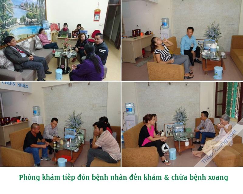 Bệnh nhân đến khám chữa hàng ngày tại phòng khám Nam Xoang - Doctor Nam - 2