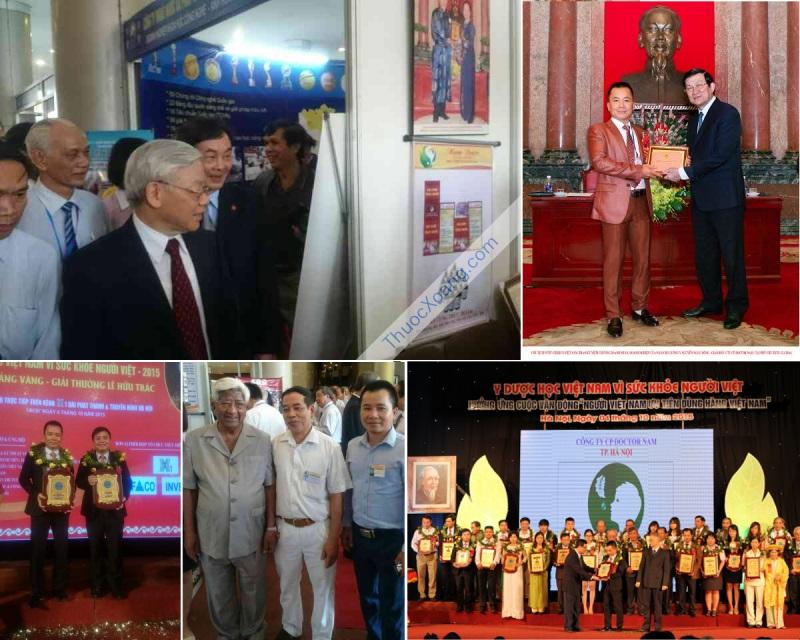 Gặp mặt các lãnh đạo cao cấp và nhận các giải thưởng nhà nước