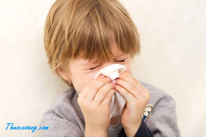 Viêm mũi xoang trẻ em & nhiễm khuẩn đường hô hấp