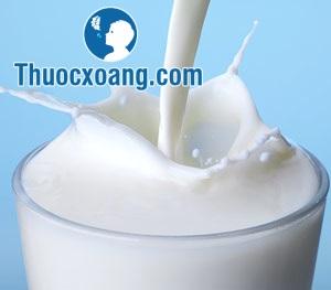 Viêm xoang cần tránh các sản phẩm từ sữa