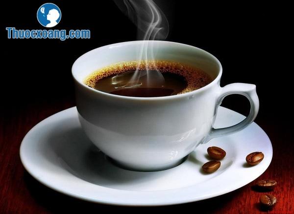 Viêm xoang kiêng uống cafe