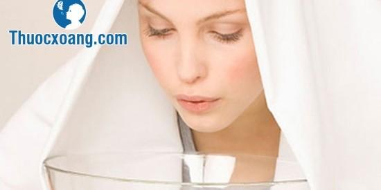 xông hơi hỗ trợ chữa viêm xoang