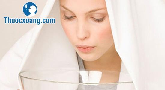 xông hơi hỗ trợ hỗ trợ điều trị viêm xoang