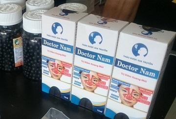 Doctor Nam - Sản phẩm tâm huyết sau 10 năm nghiên cứu hỗ trợ điều trị viêm xoang