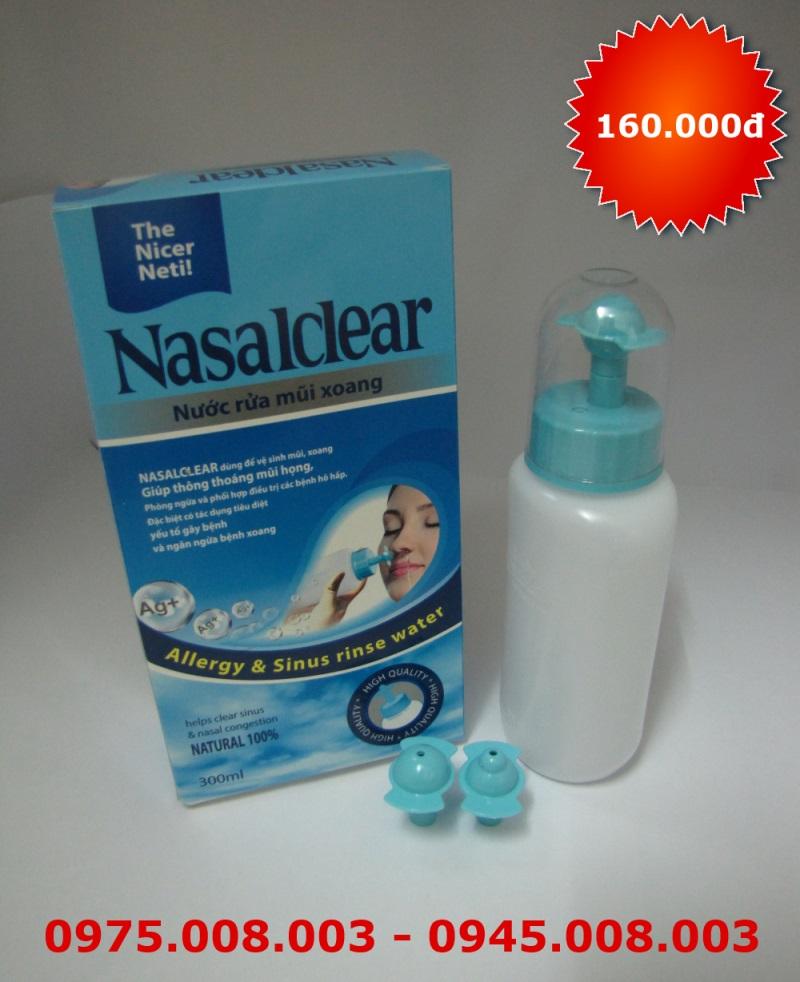 Bộ dụng cụ rửa mũi NasalClear