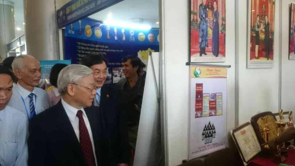 Doctor Nam tại Đại Hội Liên Hiệp Các Hội Khoa Học và Kỹ Thuật Việt Nam lần thứ VII, nhiệm kỳ 2015-2020