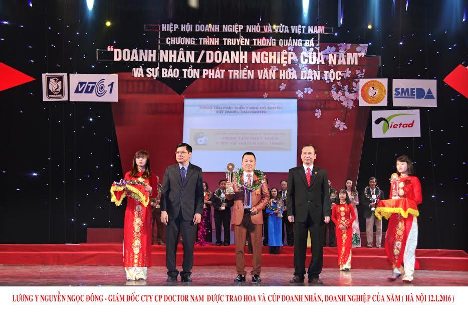 Doanh nhân và doanh nghiệp của năm và sự bảo tồn phát triển văn hóa dân tộc